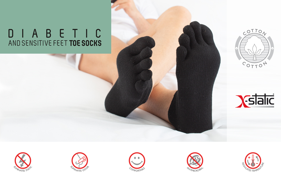 relaxsan dibetic, calzini con dita, calze diabete, gambaletti per diabetici