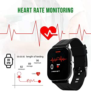 Health heart rate monitor