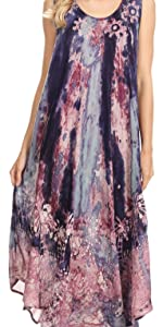 Kaftan caftan casual maxi short sleeve long dress vintage bohemian printed summer beach nightgown