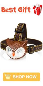Owl Headlamp