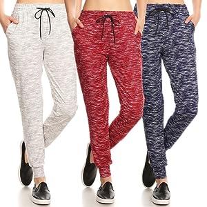 Shosho jogger pants,womens joggers,sweats-soft brushed,pockets,casual,jogging pants,yoga,track pants