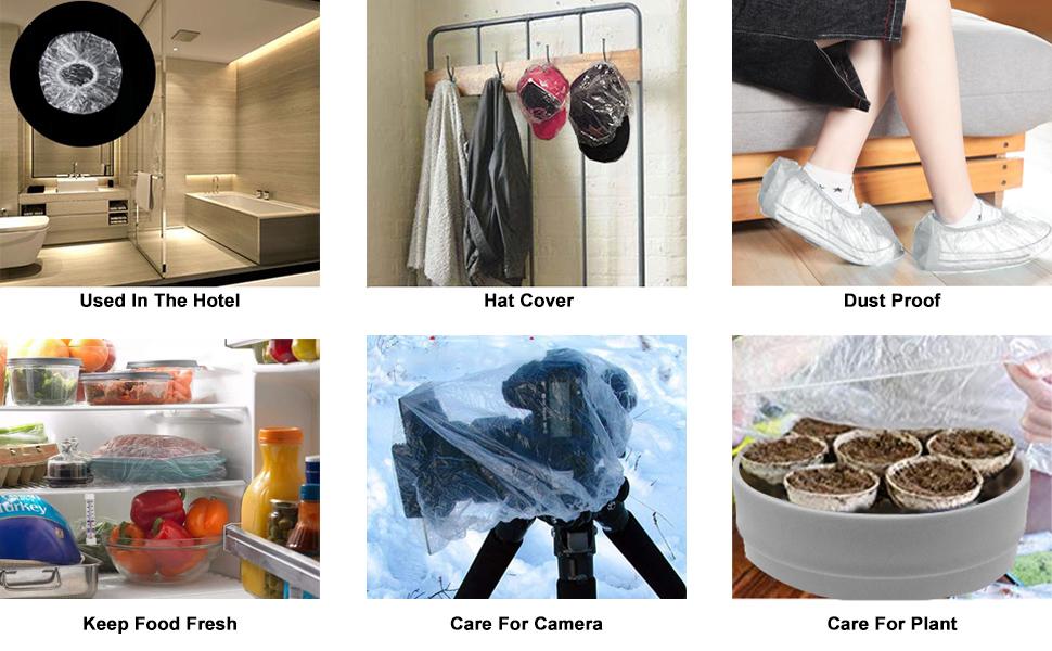 eAmaze shower cap disposable shower cap plastic cap plastic shower cap