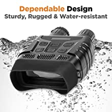 waterproof military grade binoculars