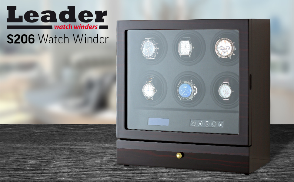 Automatic 6 watch winder
