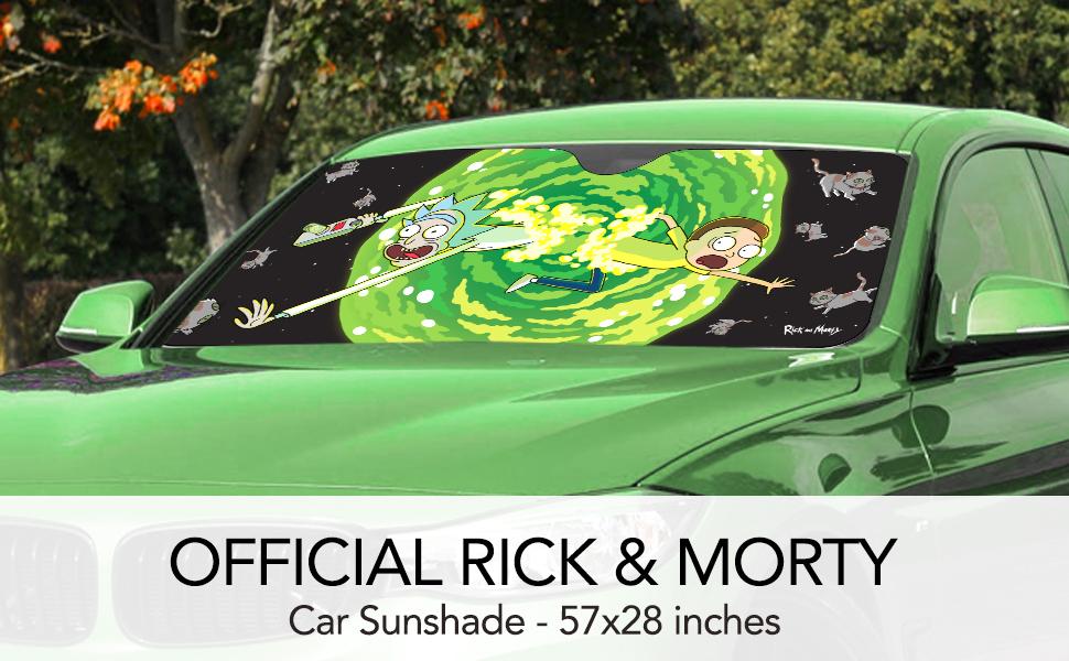 Sun Shade Sun Shield multicolour RICK AND MORTY Summer Smith