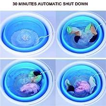 Mini Portable Washing Machine 2