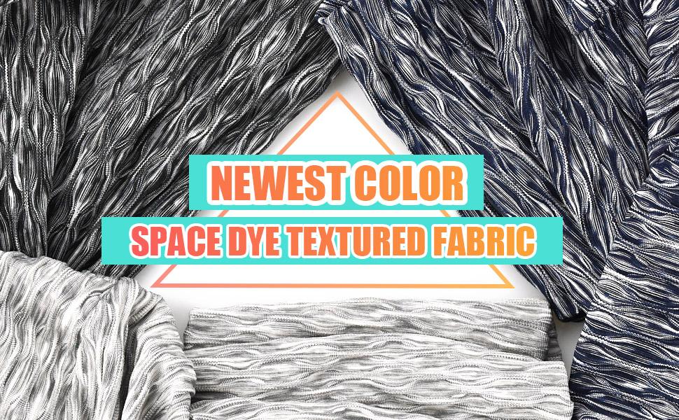 Space Dye Textured Leggings