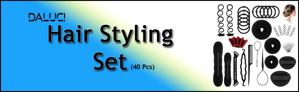 hair styling set daluci