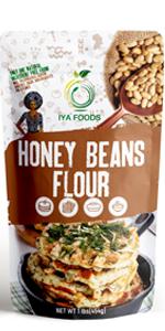 honey beans flour comparison
