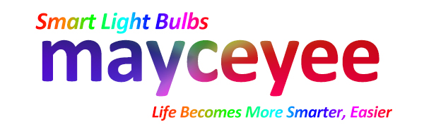 mayceyee smart light bulbs makes life more smarter and easier