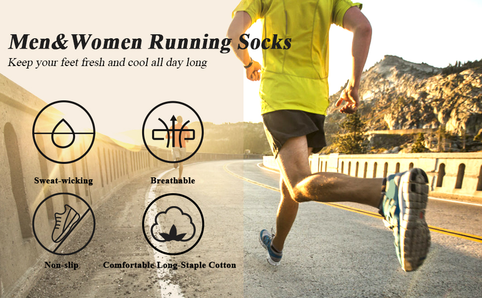 Men Soft Cotton Socks Casual Running Working Outdoor Sports Fashion Ankle Socks