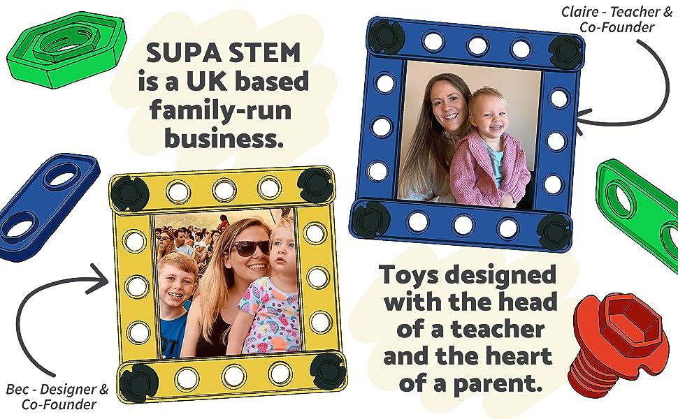 family run business, stem toys for all the family