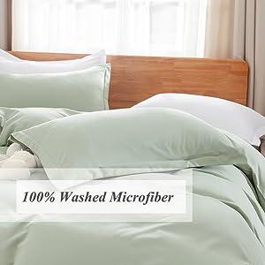 100% Washed Microfiber