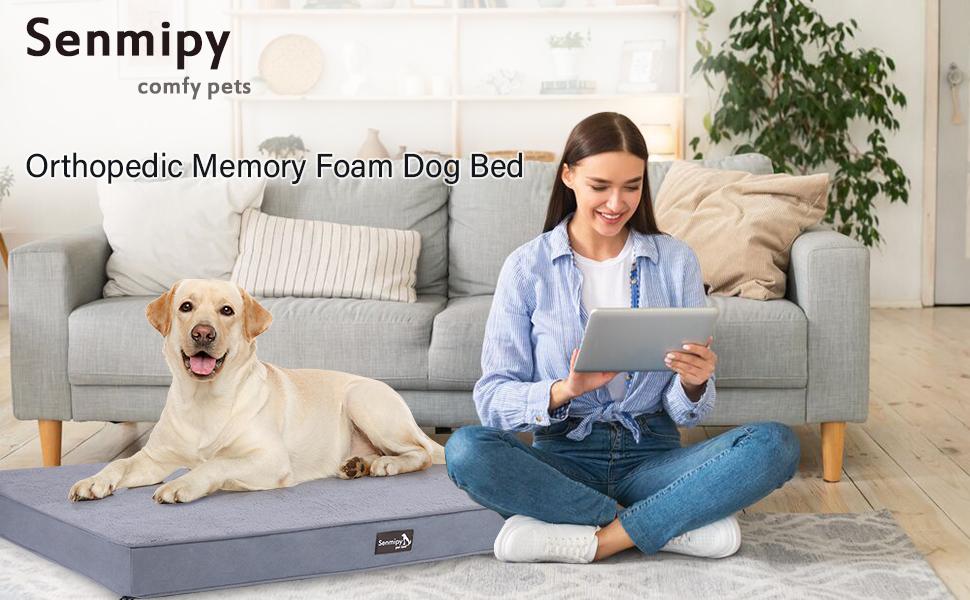 Senmipy Dog Bed