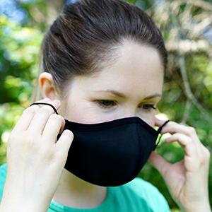 enerplex fabric face mask size extra large xl fabric mask black fabric face mask men beard mask