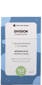 Think Tank Scholar Division Flash Cards