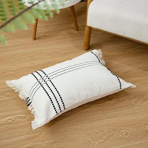 rectangle pillow cover farmhouse pillow cover