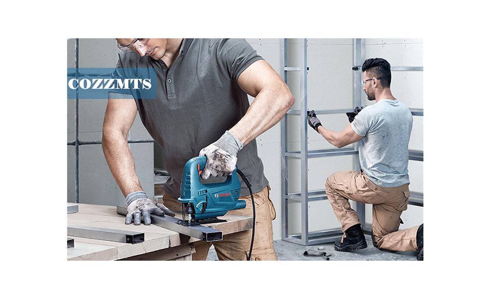 Bosch T-Shank Jig Saw Blade Set with Case
