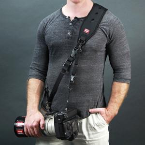 カメラストラップ 一眼レフ ストラップ 望遠レンズ 大型レンズ 2点支持 速写ストラップ Carry Speed