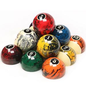 clear billard balls