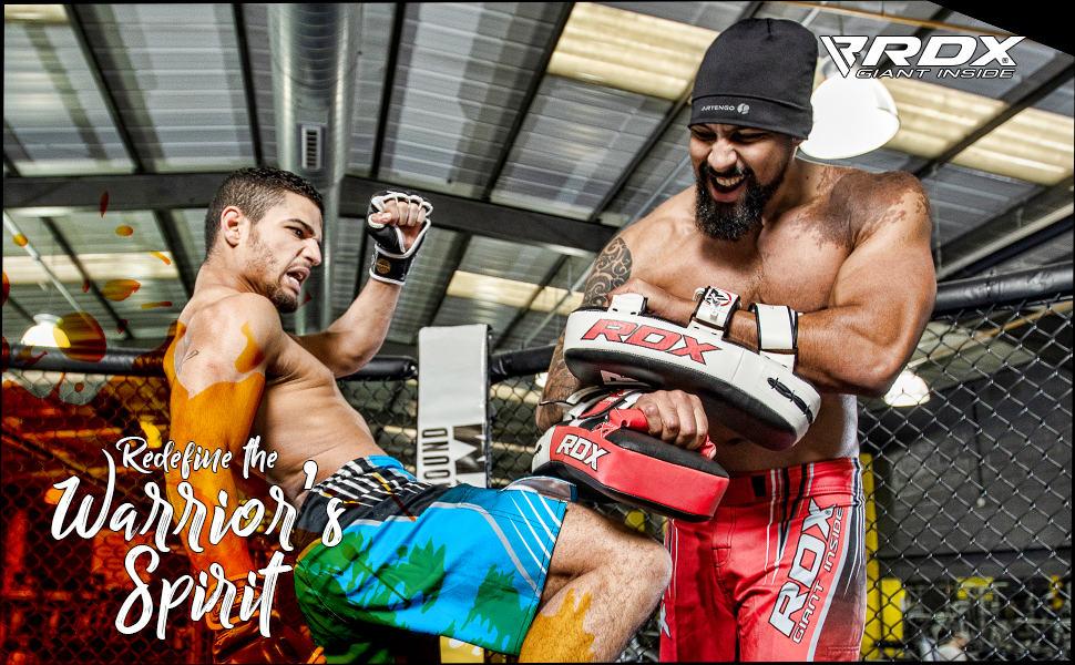 RDX MMA Boxeo Escudo Artes Muay Thai Marciales Paos Manoplas Entrenamiento Segunda Mano Patada Pad (Esto Se Vende como Solo Artículo): Amazon.es: Deportes y aire libre