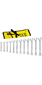 12 Piece Combination Wrench Set