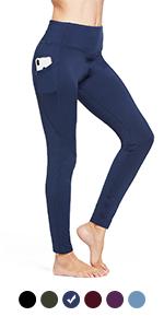 Womens fleece lined leggings