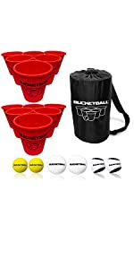 BucketBall Giant Beer Pong Edition Combo Pack