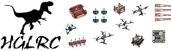 hglrc fpv drone