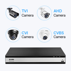 Flashandfocus.com 7ad610cc-1d33-4a09-ae52-0ae0ffaa3813.__CR0,0,300,300_PT0_SX300_V1___ ZOSI H.265+ 16CH Security Camera System with 2TB Hard Drive,16Channel 1080P Wired DVR and 8X 1080P Outdoor Indoor…