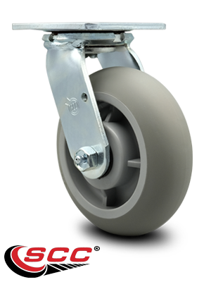 Series 30 Heavy Duty Thermoplastic Rubber Casters