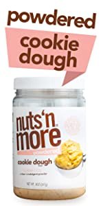 Nuts N More Powdered Cookie Dough Protein Powder