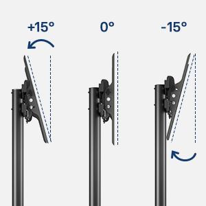 ±15° Tilting