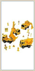 組み立て建設車両