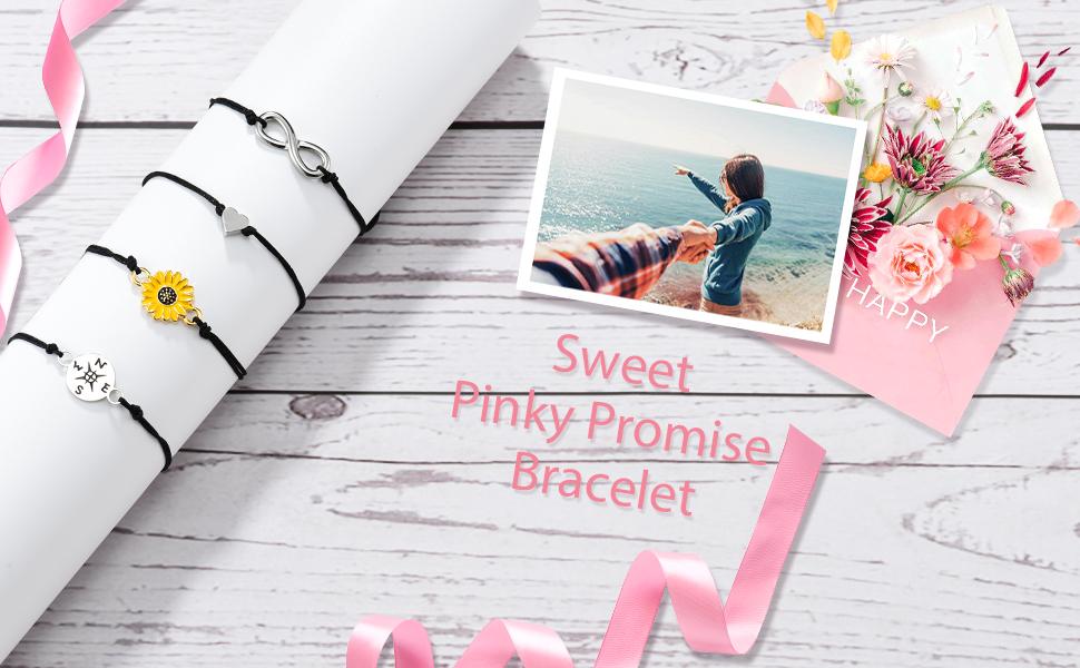 pinky promise bracelet