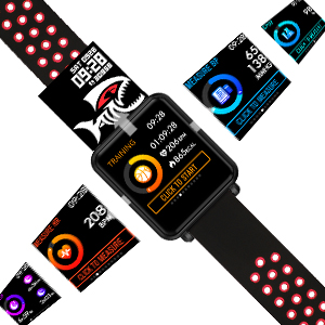 full touch screen smart watch