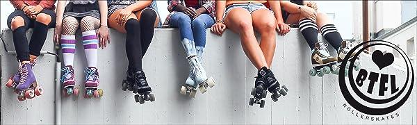 BTFL Beautifull Longboards Rollerskates Skates Roller