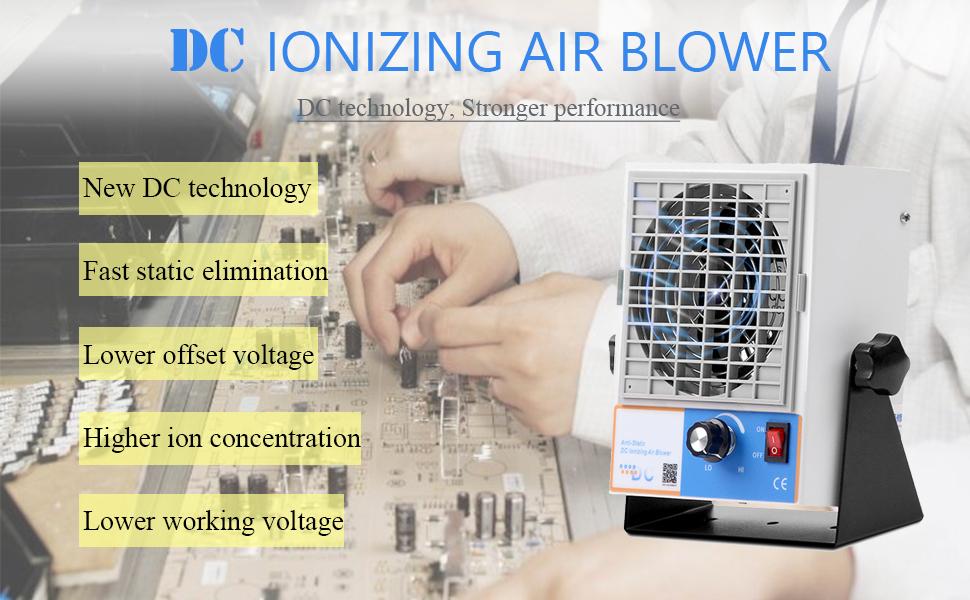 DC ionizer blower