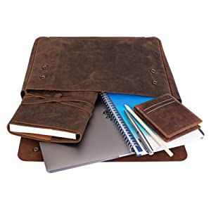 Leather Organizer for Professionals, Graduates and Students