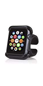 Satechi カーハンドル用ホルダー ハンドルマウント アップルウォッチ Apple Watch グリップマウント 自転車 バイクハンドル 角度自在 ホルダ 360度回転