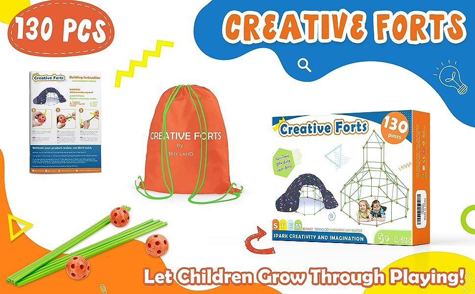 [Creative fort kits]