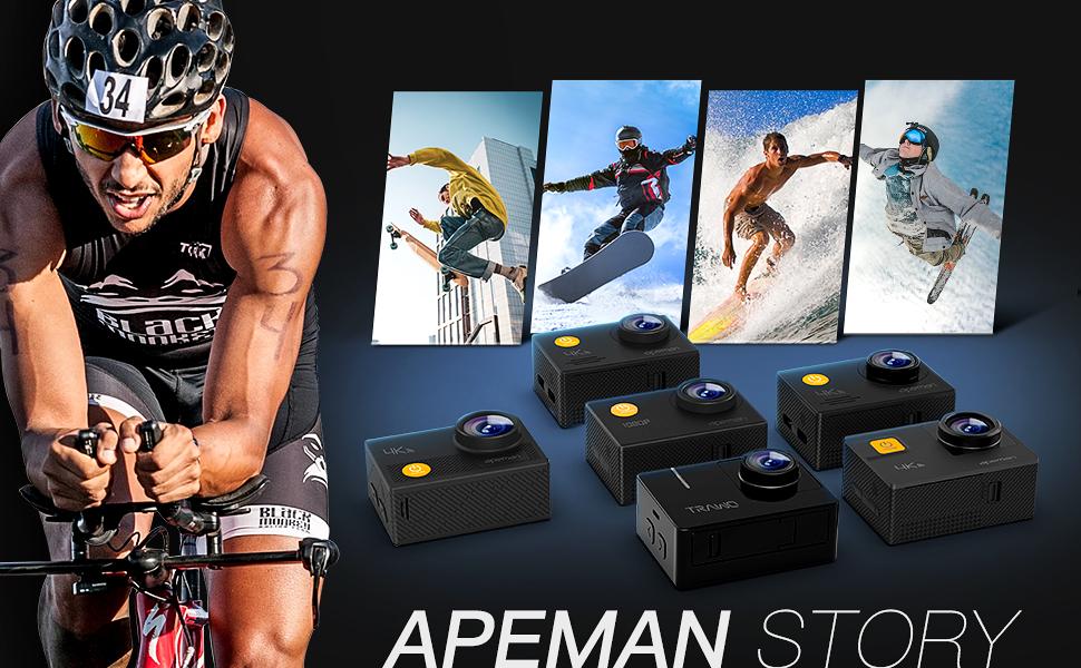 apeman action cam 4k gopro