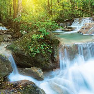 Negative Ion Waterfall