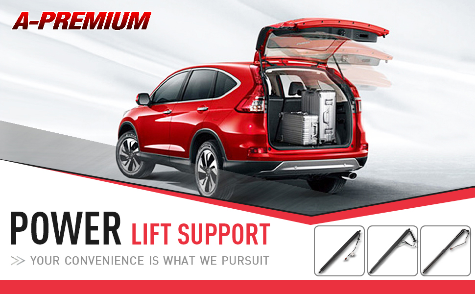 Tailgate Power Lift Supports