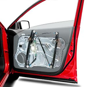 Lève vitre avec plaque de base avant droite pour Seat Leon Toledo II 2 1m0837462a