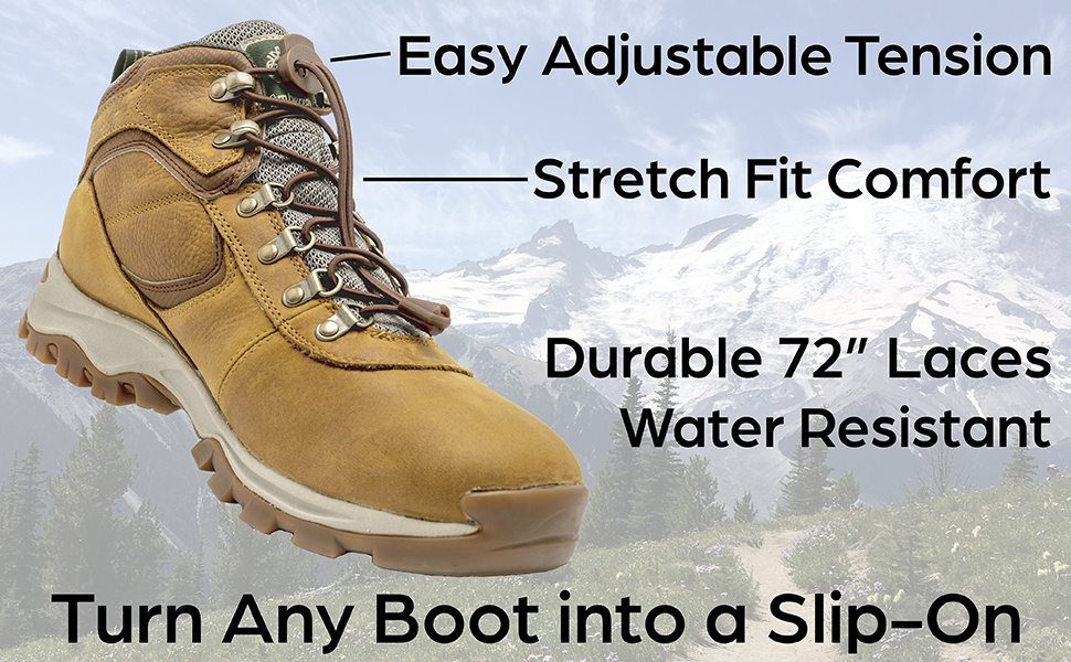 no tie boot laces, boot lock laces, lock laces