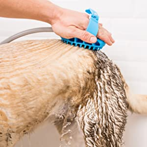 aquapaw sprayer dog bath puppy pet bathing tool