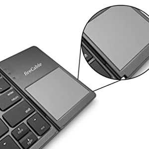 portable keyboards touch pad track pad mouse