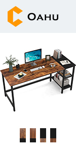 Storage Shelves Desk