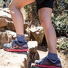 Trail Midweight Mini-Crew, Granite
